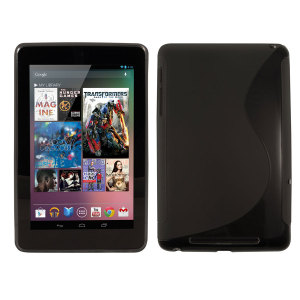 FlexiShield Wave Case for The Google Nexus 7 - Black
