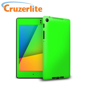 Fluorescent Green Skin for Google Nexus 7 2013 - Green