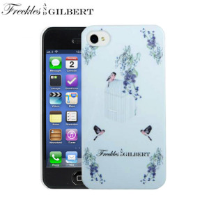 Freckles and Gilbert iPhone 5S / 5 Case - Wisteria Birdcage