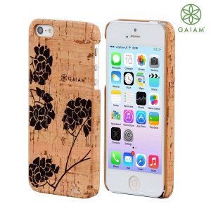 Gaiam Cork Case for iPhone 5S / 5 - Hydrangea