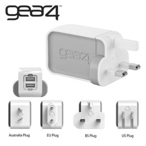 Gear4 WorldTour Dual USB Charger
