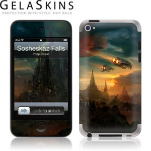 Gelaskins Protective Skin for Apple iPod Touch 4G - Sosheskaz Falls