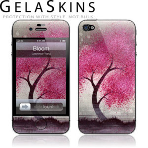GelaSkins Protective Skin for iPhone 4S / 4 - Bloom