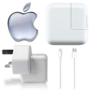 Genuine Apple Lightning Mains Charger - iPad 4/iPad Mini 2/iPad Mini