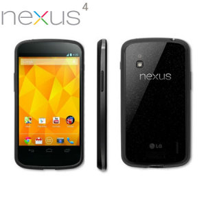 Genuine Google Nexus 4 Bumper - Black