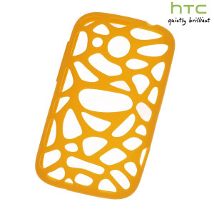 Genuine HTC Desire C Silicone Case - Orange - SC S780