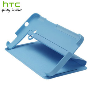Genuine HTC One 2013 Double Dip Flip Case - HC V841 - Light Blue