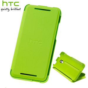 Genuine HTC One Mini Double Dip Flip Case - HC V851 - Green
