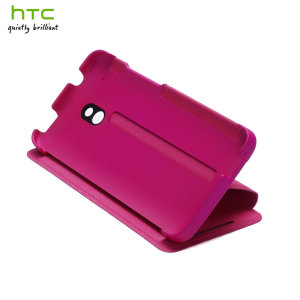 Genuine HTC One Mini Double Dip Flip Case - HC V851 - Pink