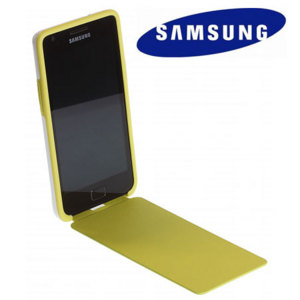Genuine Samsung Galaxy S2 Flip Cover - Lime
