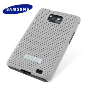 Genuine Samsung Galaxy S2 i9100 Mesh Vent Case - White