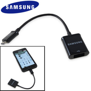 Official Samsung Galaxy S3 / S2 / Note Micro USB to USB Converter