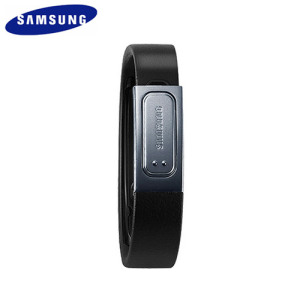 Genuine Samsung Galaxy S4 S Band Fitness Bracelet - Black - Large