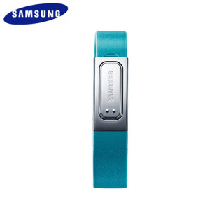 Genuine Samsung Galaxy S4 S Band Fitness Bracelet - Blue - Large