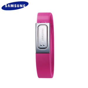 Genuine Samsung Galaxy S4 S Band Fitness Bracelet - Pink - Small
