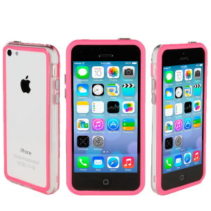 GENx Bumper Case for Apple iPhone 5C - Pink