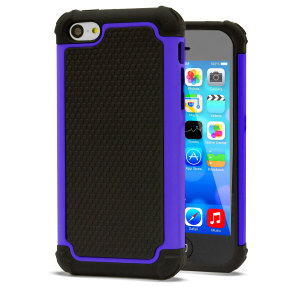 GENx Hybrid Tough Case for Apple IPhone 5C - Purple