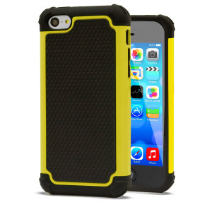 GENx Hybrid Tough Case for Apple IPhone 5C - Yellow