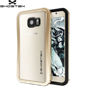 Ghostek Atomic 2.0 Samsung Galaxy Note 5 Waterproof Tough Case - Gold