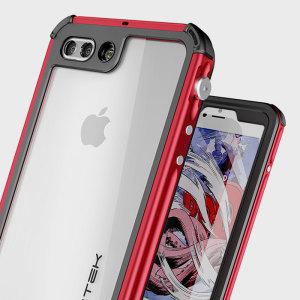 Ghostek Atomic 3.0 iPhone 7 Plus Waterproof Tough Case - Red
