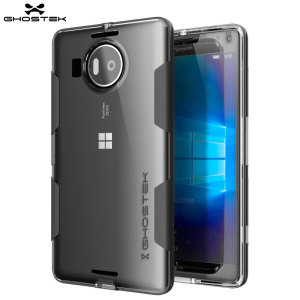 Ghostek Cloak Bumper Microsoft Lumia 950 XL Tough Case - Clear / Black