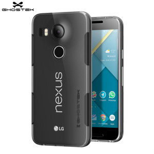 Ghostek Cloak Nexus 5X Tough Case - Clear / Black