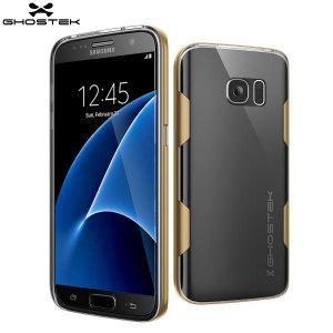 Ghostek Cloak Samsung Galaxy S7 Tough Case - Clear / Gold