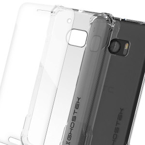 inyour ghostek covert htc 10 bumper case clear black doesn't take