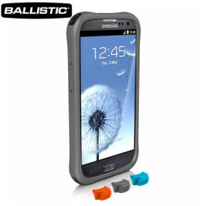 Go Ballistic LifeStyle Smooth Series Case For Samsung Galaxy S3 - Grey