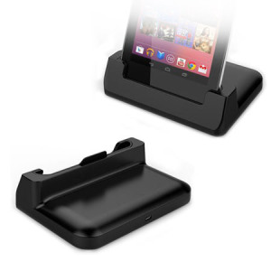 Google Nexus 7 Case-Compatible Desktop Sync and Charge Cradle