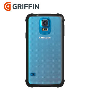 Griffin Survivor Clear for Samsung Galaxy S5 - Black / Clear
