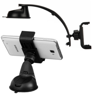 GripMount 2-in-1 Car Holder with Extendable Arm