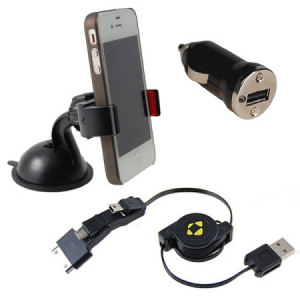 Gripmount Universal Car Charger Mount Kit