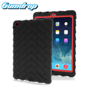 Gumdrop Drop Series Case for iPad Air - Black / Red
