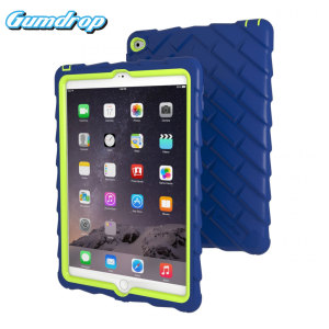 Gumdrop Drop Series iPad Air 2 Rugged Case - Blue / Lime