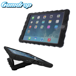 Gumdrop Hideaway iPad Air Case with Stand - Black