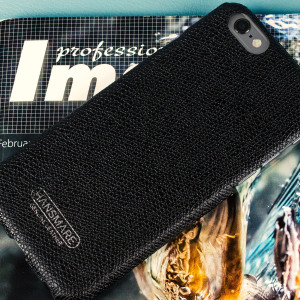 Hansmare Genuine Leather Skin iPhone 6S / 6 Case - Black
