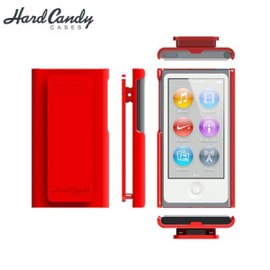 Hard Candy Nano Clip for iPod Nano 7G - Red