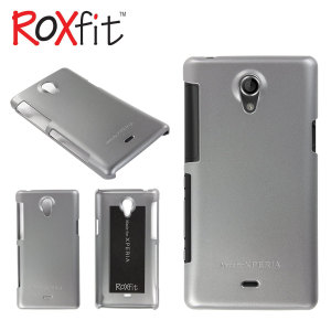 Hard Shell Case for Sony Xperia T - Gun Metal Grey
