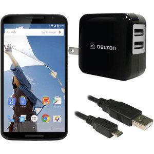 High Power 2.1A Google Nexus 6 Wall Charger - USA Mains