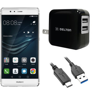 High Power 2.1A Huawei P9 Wall Charger - USA Mains
