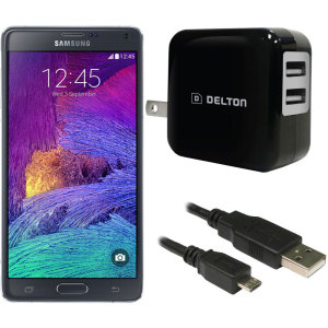 High Power 2.1A Samsung Galaxy Note 4 Wall Charger - USA Mains