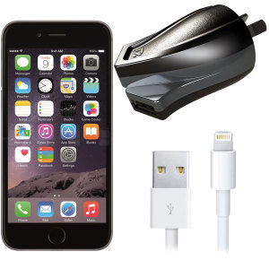 High Power 2.4A iPhone 6 Plus Wall Charger - Australian Mains