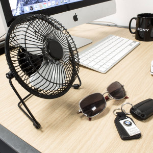 High Velocity Metal USB Desk Fan