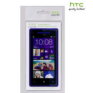 HTC 8S Screen Protector - Twin Pack