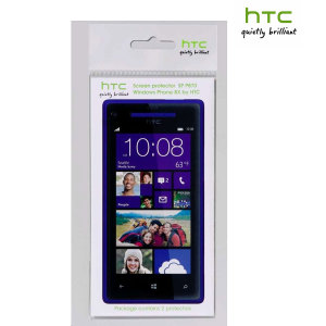 HTC 8X Screen Protector Twin Pack