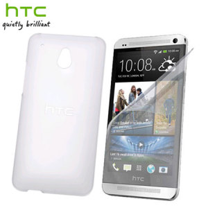 HTC Hard Shell Case & Screen Protector for HTC One Mini - Clear