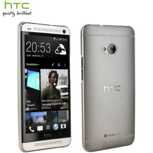 HTC Official Translucent Hard Shell Case for HTC One M7 - Clear