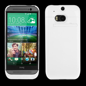 HTC One M8 Power Jacket Case 3200mAh - White