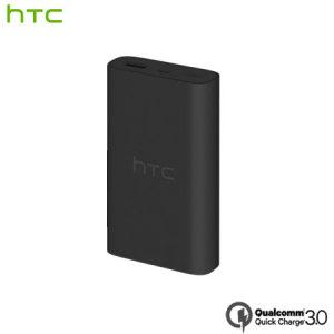 HTC Portable Qualcomm Quick Charge 3.0 Power Bank - 10,050mAh - Black